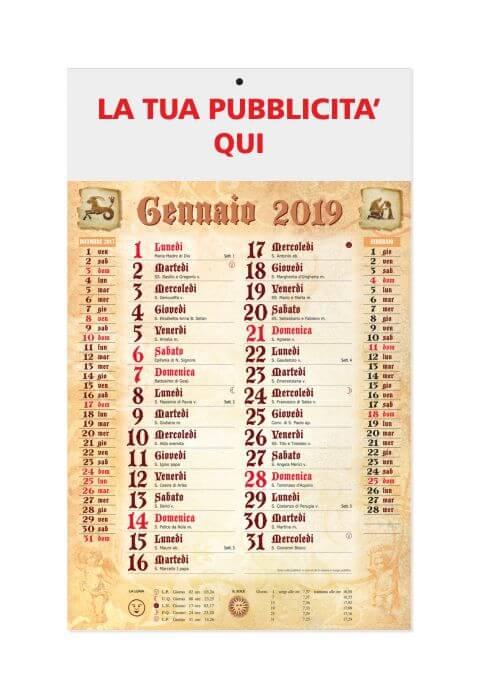 Calendario Antico.Calendario 2019 Olandese Antico 29x47