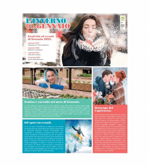 Calendario Illustrato.Calendario 2019 Illustrato Quattro Stagioni