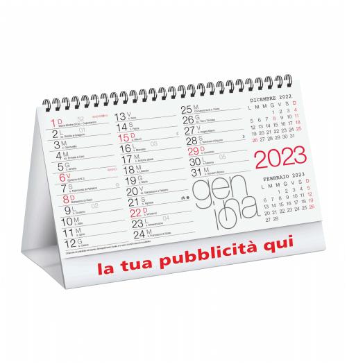 Calendario Da Scrivania 2020.Calendario Da Tavolo 2020 Moderno