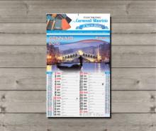 Calendari da muro illustrati 2018 con testata personalizzata