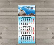 Calendari da muro trittici 2019 con testata personalizzata