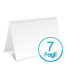 Calendari da tavolo 2020 personalizzati - formato A5