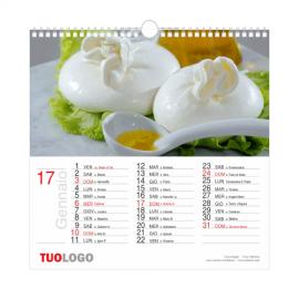 Calendari da muro 2020 - 29.7 x 29.7 - modello 1