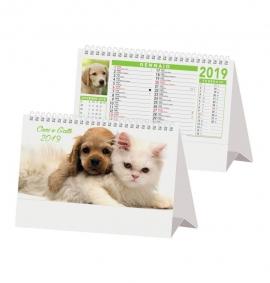 Calendario da tavolo 2018 Cani e gatti 2
