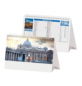Calendario da tavolo 2018 Città d'Italia
