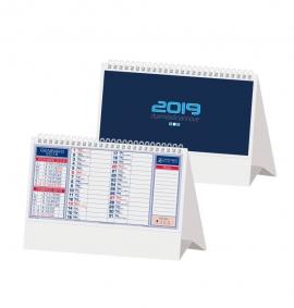 Calendario da tavolo 2019 olandese verde