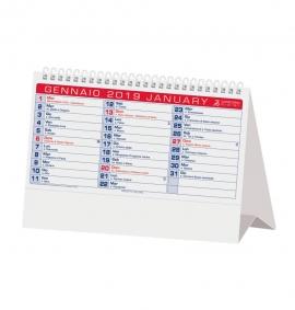 Calendario da tavolo 2019 olandese blu