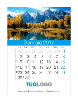 Calendari CD 2021 personalizzati - modello 1