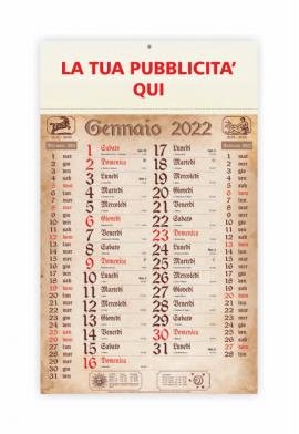 Calendario olandese Antico 2019 - 29x47