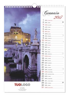 Calendari da muro 2020 verticale - 29.7x42 - modello 7