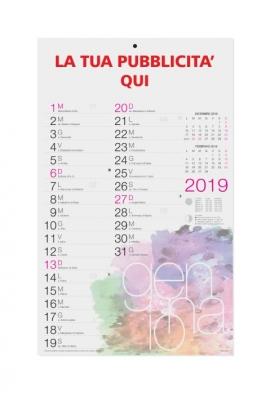 Calendario olandese Moderno 2019 - 29x47